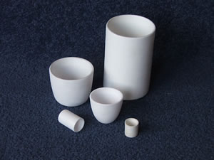 Alumina and zirconia crucible options