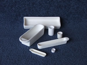 Alumina crucibles and Labware