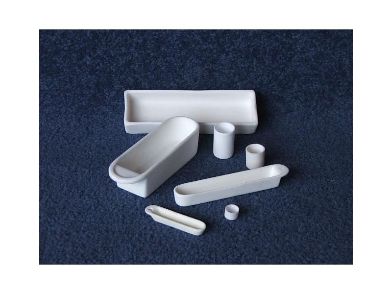 Crisoles al mina y otras piezas cer micas para laboratorio for Ceramicas para piezas