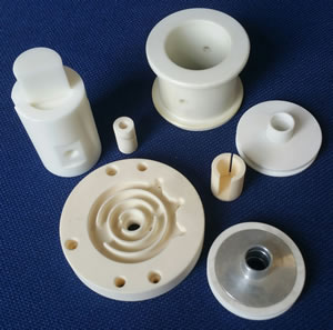 Machined ceramics and custom ceramic products