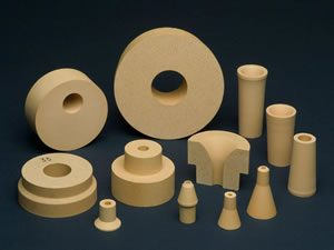 Atomizing nozzles and other Zirconia ceramic products