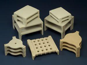 Ceramic setters