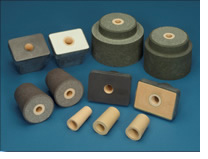 Zirconia ceramics products e.g. atomizing nozzles